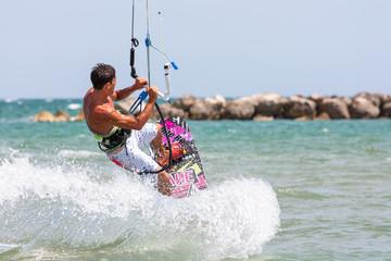 Kite surf jump
