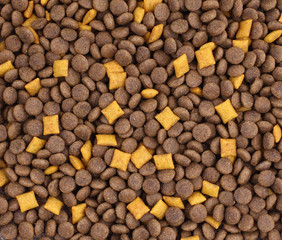 Pet food background texture