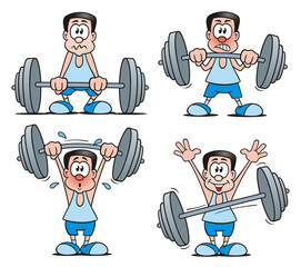 Sports Weightlifting Set