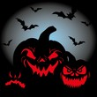 Halloween Night Kürbis Horror Angst