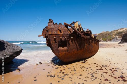 Fototapete Panne - Küste - Andere Boote