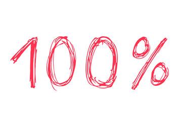 100 Prozent...