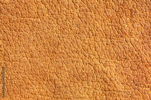 Staande foto Leder Old leather, brown chamois texture