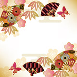 japanese motif background