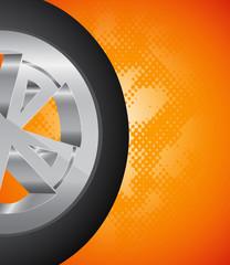 Wheel background