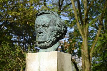 Richard Wagner, Büste, Festspielhaus, Bayern, Bayreuth