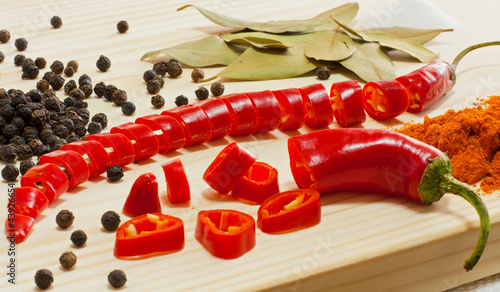 Chili pepper and other spices