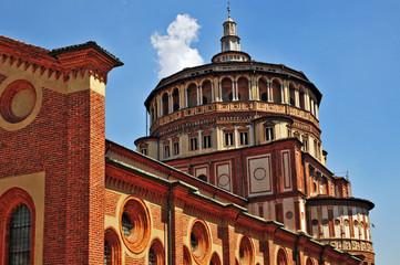 Milano, la Basilica di Santa Maria delle Grazie