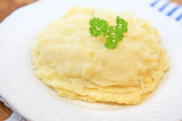 Portion Kartoffelpüree