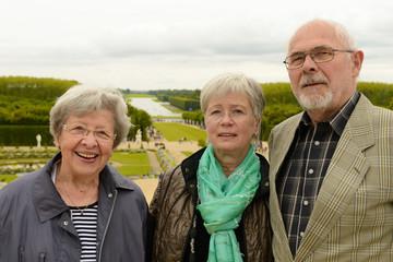 Senioren in Versailles