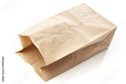 Brown Paper Bag Sack Lunch