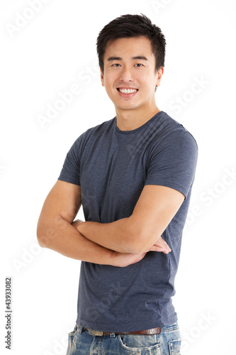 Studio Shot Of Chinese Man