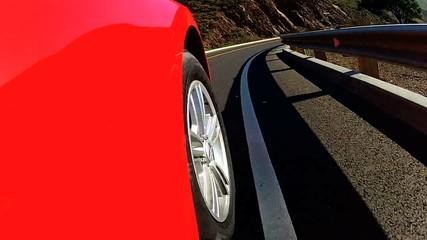 Cabriolet Car Vacation Road Trip