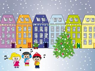 city at christmas