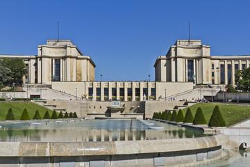 Trocadero. Palais de Chaillot. Paris, France.