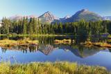 Fototapety Mountain Lake in Slovakia Tatra - Strbske Pleso