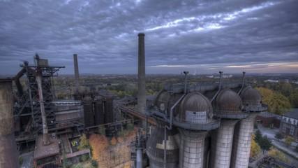 HDR Zeitraffer Industriepark Duisburg