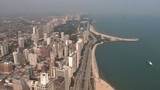 Chicago Lakeshore Drive Aerial poster
