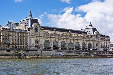 D'Orsay Museum (former Gare Orsay) is a museum in Paris, France
