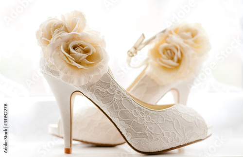 Stylish & Elegant Bridal Wedding Shoes - 43942279