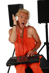 dj..... drag queen