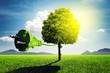 Leinwanddruck Bild - Green Energy