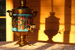Russian traditional samovar