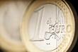 Euromünze im Detail