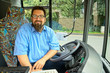 Laughing Bus Driver - 43950022