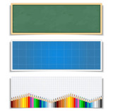 Fototapety Education Banners