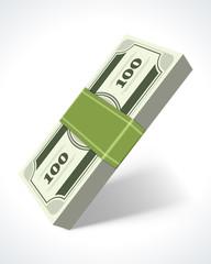 Dollars money vector design elements