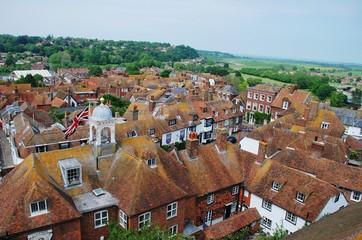 Tiled rooftops, Rye, England