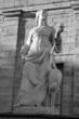 Statue 'Vigilance' near the Gatchina Palace