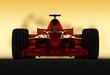 formel 1 racer frontal