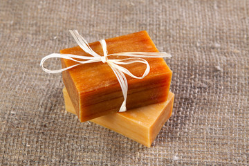 flavored natural handmade soap