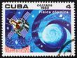 Postage stamp Cuba 1980 Astrophysics, Intercosmos
