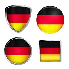 germany flag icon set