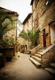 Fototapety cute italian street