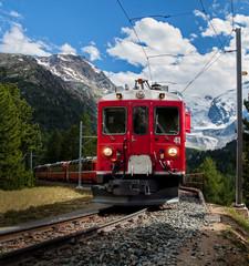 trenino rosso del Bernna