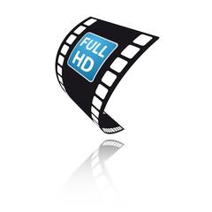 Full HD auf Filmstreifen