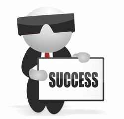 success - businessman
