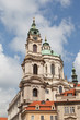 Prague, St. Mikulash's church (St. Nikolay)