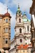 Prague, St. Mikulash's church (St. Nikolay)