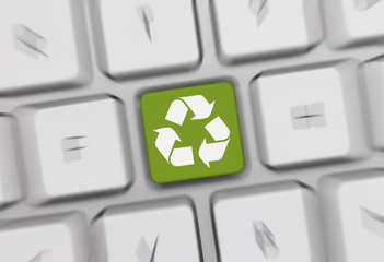 recycle keyboard 13