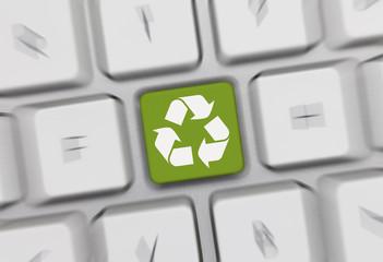 recycle keyboard 13