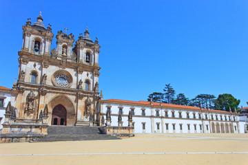 Alcobaca Monastery and Church. Unesco site, Portugal