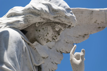 Cemetery Stone Angel