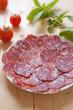Dish of sausage