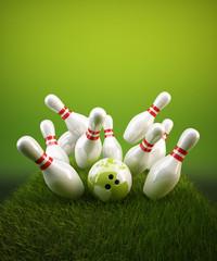Bowling Strike Natur