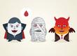 Halloween - Monster set